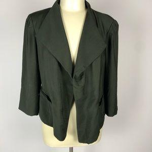Ella Moss Cropped Jacket Size L